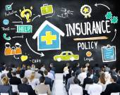 Business People and Insurance Policy Concept — Stock Photo
