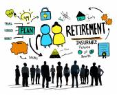 Business People and Employee Retirement — Stock Photo