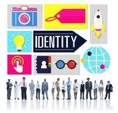 Rozmanité koncepce lidí a identity — Stock fotografie