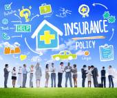 Business People and Insurance Concept — Stock Photo