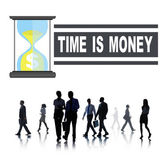 People and Time is Money Concept — Stock Photo