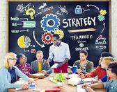 Strategy Solution Tactics Teamwork  Concept — Stock Photo