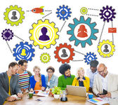 Business Team and Partnership Concept — Stock Photo