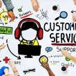 Diverse people and Customer Service Concept — Stock Photo #71693845