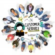 Diverse people and Customer Service Concept — Stock Photo #71694423
