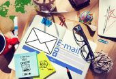 Email Online Messaging Social Media Internet Concept — Stock Photo