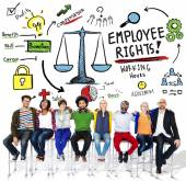 Diverse people and Employee Rights Concept — Stock Photo