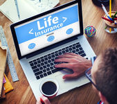 Life Insurance Protection — Stock Photo
