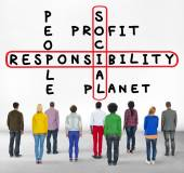 Diverse people and Social Responsibility Concept — Stock Photo
