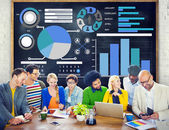 Diverse people and Planning Concept — Stock Photo