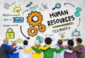 People and Human Resources Concept — Stock Photo
