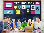 Diverse people and Technology Concept — Stock Photo