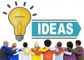 多様な人々 やアイデアの概念 — ストック写真