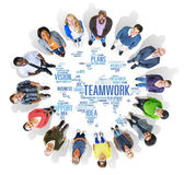Diverse people around the Support Concept — Foto de Stock