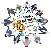 Business people and Human Resources — Foto de Stock