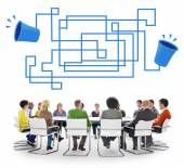 Diverse people and Communication Concept — Stock Photo