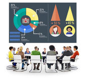 Diverse people and Analysis Concept — Stock Photo