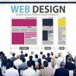 People at seminar about Web Design — Stockfoto #73576867