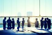 Business People in meeting room — Stock Photo