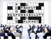 Diverse people and Social Responsibility — Stock Photo