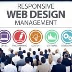 Unterschiedliche Menschen und Webdesign — Stockfoto #73585451