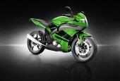 Motorbike  Contemporary Concept — Stock Photo