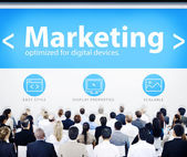 Business People and Marketing Concept — Stock Photo