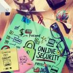 Online Security Password Concept — Stock Photo #74701711
