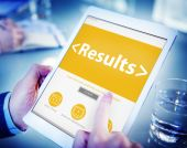 Digital Online Results Outcome Effect Product Browsing Concept — Stock Photo