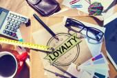 Loyalty Values Honesty Integrity Honest — Stock Photo