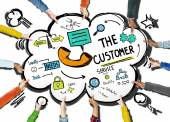 The Customer Service  Support Assistance — Stock Photo