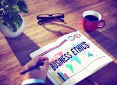 Business Ethics Moral Responsibility Business Concept — Stock Photo