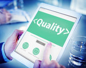 Digital Online Effective Quality Office Working Concept — Stock Photo