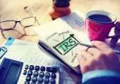 Internatl Revenue Service IRS Finance Taxation Government — Stock Photo