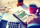 Business Customer CRM Management Analysis Service Concept — Stock Photo