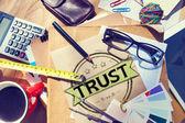 Trust Belief Faithfulness Honest Honorable Concept — Stock Photo