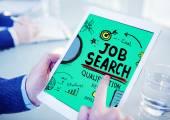 Reprendre la qualification recherche emploi recrutement embauche demande — Photo