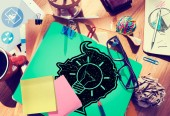 Idea Creative Creativity Imgination Innovate Thinking Concept — Stock Photo