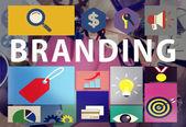Branding Marketing Commercial  Concept — Stock Photo