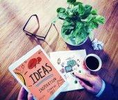 Ideas Innovation Creativity Knowledge Inspiration Vision — Stock Photo