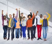 Diverse Ethnic people and Unity Variation Concept — Stock Photo