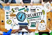 Ethnicity People Conference Discussion Security Protection — Stock Photo