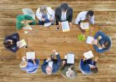 Professional Occupation Brainstorming Teamwork Concept — Stock Photo
