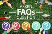 FAQ Problems Concept — Stock Photo