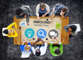 Inbound Marketing Commerce Concept — Stock Photo