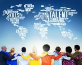 Talent deskundigheid genie vaardigheden professionele concept — Stockfoto