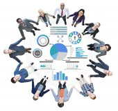 People and Planning Strategy Data Information Policy Concept — Stock Photo