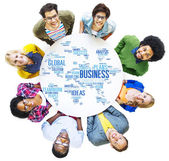 Business Global World Plans Organization Enterprise — Stock Photo