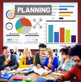 Development Plan Strategy Concept — Stock Photo
