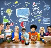 Web Design Development Concept — Stock Photo